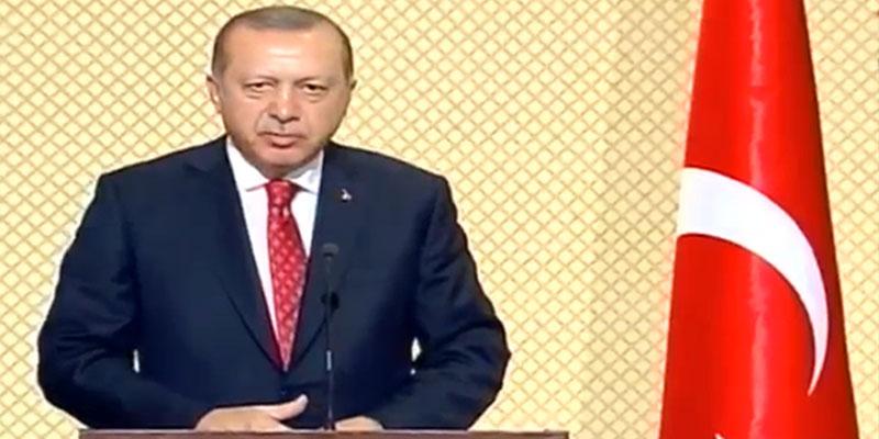 Erdogan : Nous soutenons la Tunisie dans son combat contre le terrorisme