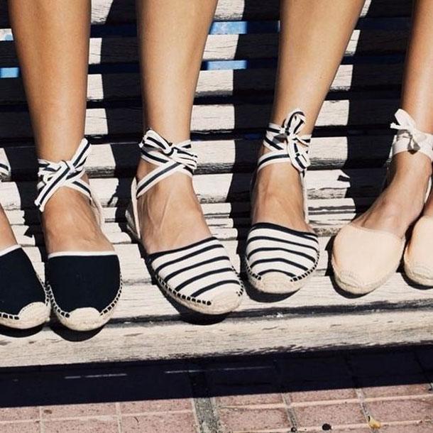 5 belles paires d'espadrilles pour un look super trendy !