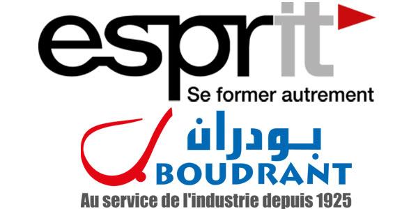 Le partenariat ESPRIT-BOUDRANT