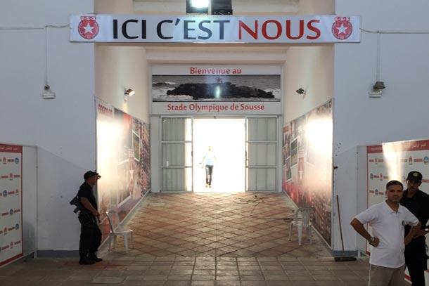 Il pleut des cordes à Sousse : le match de l'ESS contre l'US Ben Guerdane pourrait être reporté