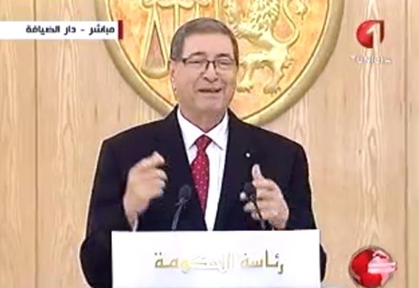 Habib Essid : voici les difficultés aux quelles nous avons fait face