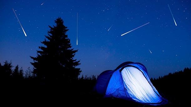 La fête des étoiles filantes c'est aujourd'hui