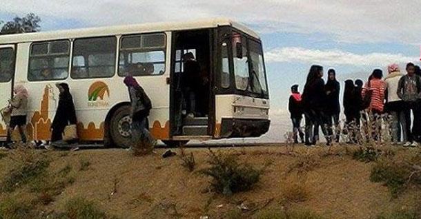 الهوارية: تسجيل حالات إغماء بسبب غاز مسيل للدموع في حافلة لنقل التلاميذ