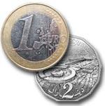 L'Euro passe sous les 2,2 Dinars