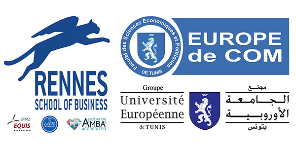 Double Diplôme entre RENNES School of Business et l'EUROPE de COM Tunis