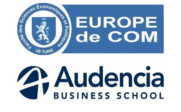 Audencia BUSINESS SCHOOL et l'EUROPE DE COM Tunis signent un partenariat stratégique