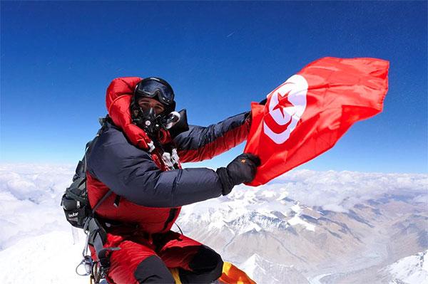 Tahar Manai premier Tunisien au sommet de l'Everest