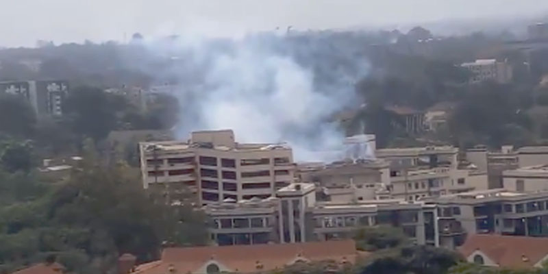Au moins cinq morts dans l'attaque d'un complexe hôtelier de Nairobi — Kenya