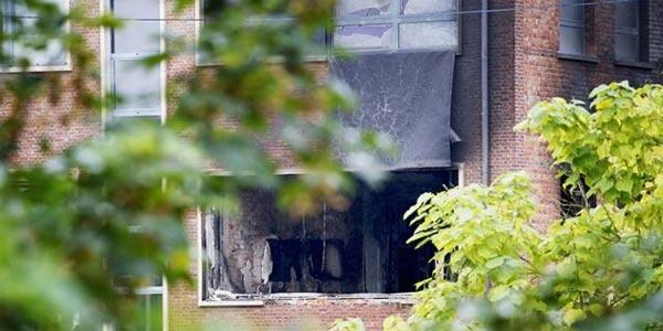 Explosion à l'institut de criminologie de Bruxelles : cinq arrestations