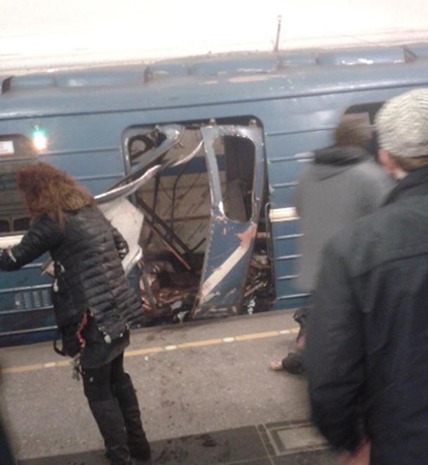 Vidéo.. Explosions dans le métro de Saint-Pétersbourg : Voici les premières images