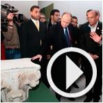 En vidéo : Inauguration de l'exposition des antiquités volées par Ben Ali