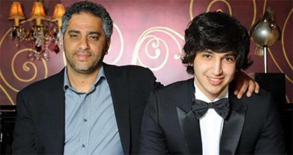 بالصور: نجل فضل شاكر يحتفل بخطوبته