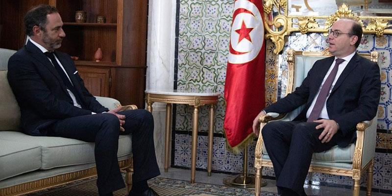 رئيس الحكومة يلتقي سفير الاتحاد الأوروبي