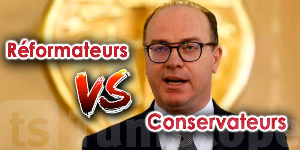C'est une guerre entre réformateurs et conservateurs, selon Fakhfakh