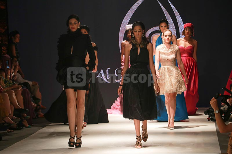 En photos : Défilé Al Maha by Maha El Moudir à la Fashion Week Tunis 2019