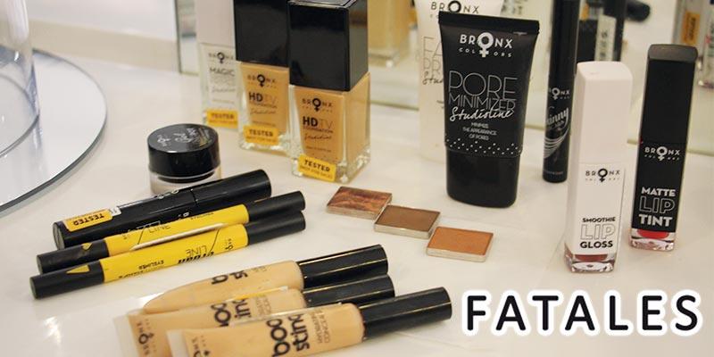 En vidéo : Découvrez la marque de make-up Bronx Colors disponible chez  Fatales