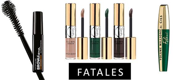 5 must-have maquillage à shopper d'urgence chez Fatales...