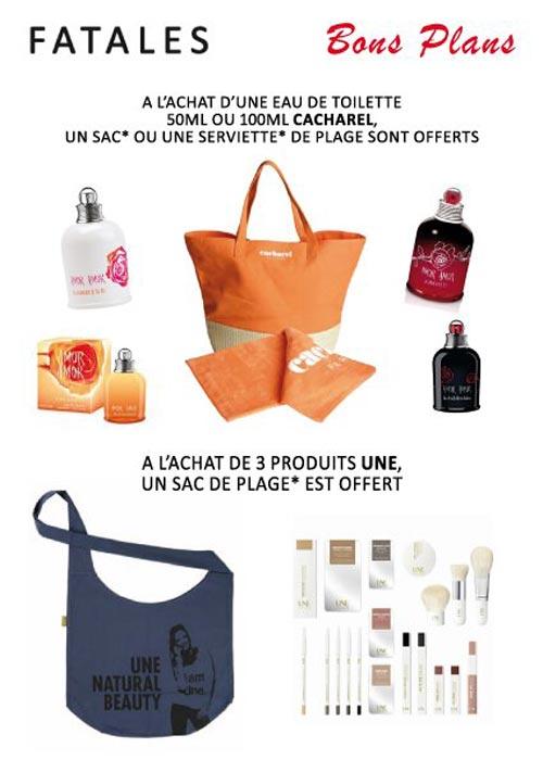 Fatales lance la promo été : Pochettes, sacs de plage, Laptop bag… à gagner