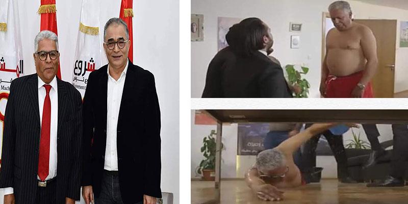 إطار بنكي وناشط سياسيّ: هوية فتحي المكاوي الذي أثار جدلا في ''قسمة وخيان''