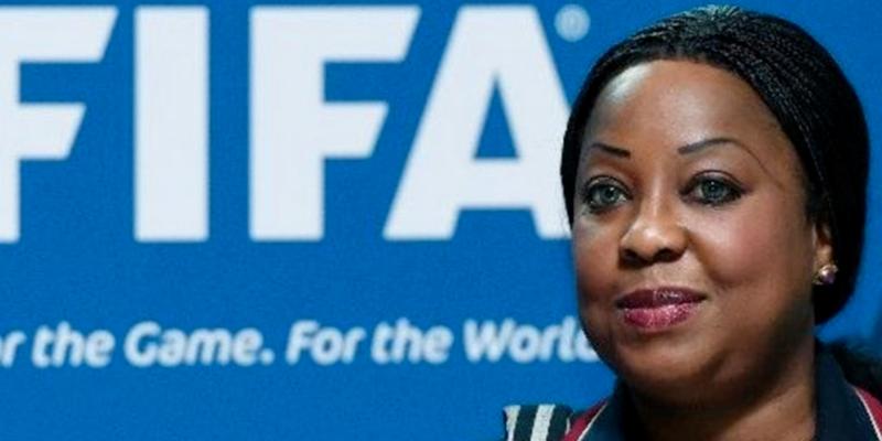 Fatma Samoura, Secrétaire Générale de la FIFA, chargée d'auditionner la CAF