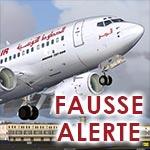 Alerte – Intox : Aucune bombe n'a été retrouvée à bord d'un avion Tunisair