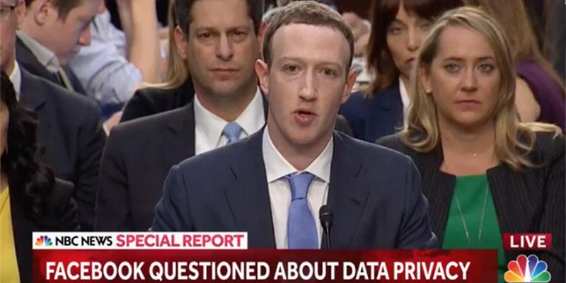 Zuckerberg : Je suis désolé