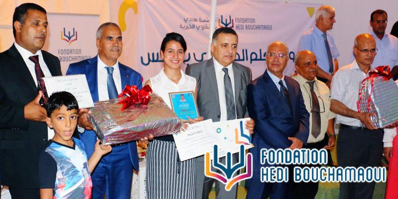 En vidéo : La Fondation Hedi Bouchamaoui honore les lauréats du gouvernorat de Gabès