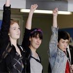 En vidéo : Les 3 Femen libres mais pour elles le combat continue