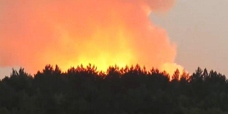 روسيا: حريق ضخم في مستودع للذخيرة وإعلان حالة الطوارئ