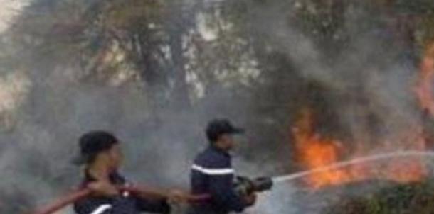 الحماية المدنية تتمكن من السيطرة على حريق ببرج قليبية