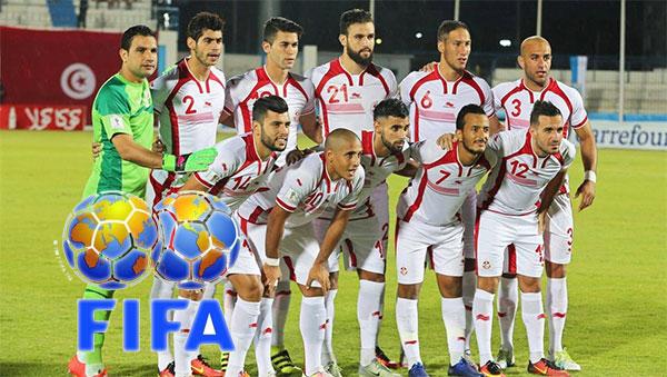 المنتخب التونسي يحافظ على مركزه الثاني والاربعين في تصنيف الاتحاد الدولي لكرة القدم