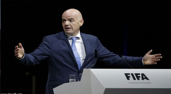 السويسري جياني إنفانتينو رئيسا جديدا للفيفا