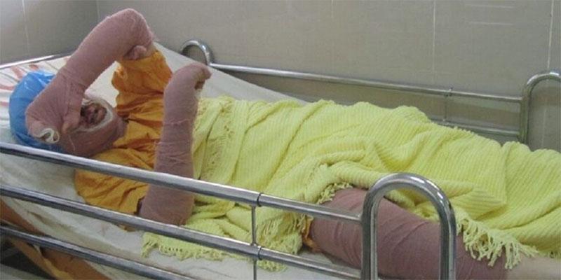 وفاة شابة إيرانية بعد إضرامها النار بنفسها أمام محكمة في طهران
