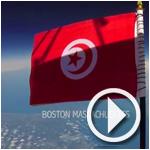 Vidéo : En hommage aux soldats et victimes des attentats, le drapeau tunisien flotte à 27 km d'altitude à Boston