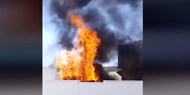 Un incendie se déclare dans une usine de câbles à Ksar Hellal