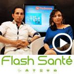 En vidéo : Jied Aouij et Linda Daoud présentent l'émission médicale Flash Santé