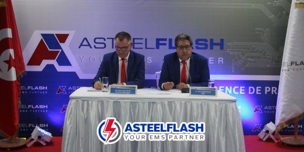 En vidéo : ASTEELFLASH inaugure  sa nouvelle usine Tunisienne à La Soukra