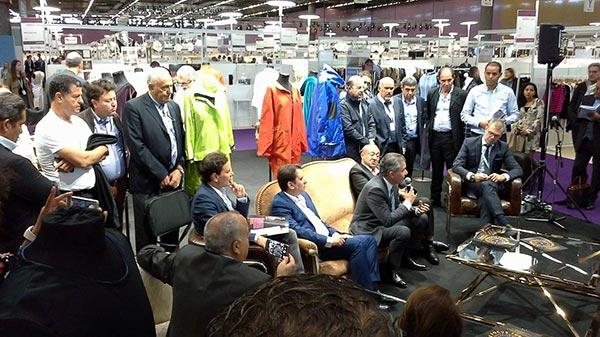 La Tunisie invitée d'honneur du salon mondial du textile Première Vision Paris l'évènement mondial des professionnels de la filière mode