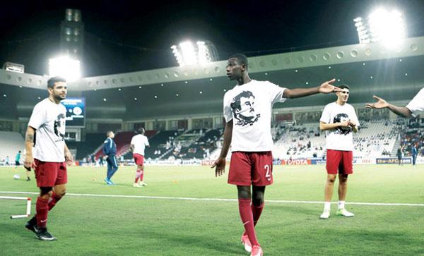 لارتداء لاعبيه قمصان دعم للأمير: المنتخب القطري رهن العقوبة
