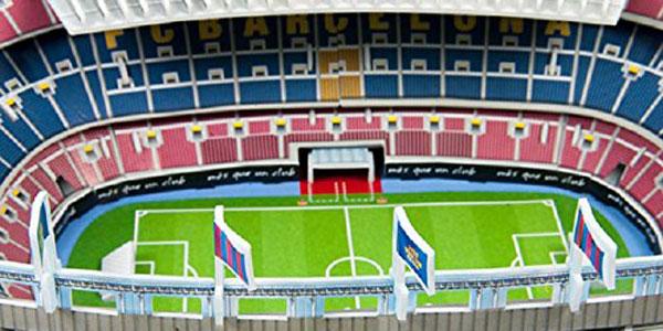 Maquette en 3D du stade mobile pour Mini-football, en Tunisie
