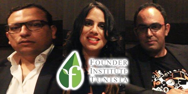En vidéo : Emna Ghariani, Ali Mnif et Walid Sultan Midani le trio de Founder Institute Tunisie