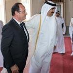 Suite à sa visite au Qatar, F.Hollande exprime sa colère