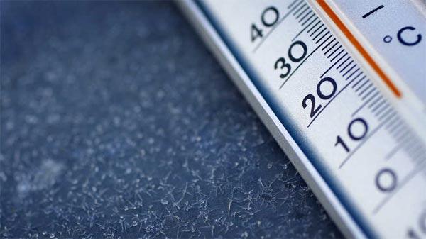 Cette nuit, les températures  baisseront jusqu'à 5°C