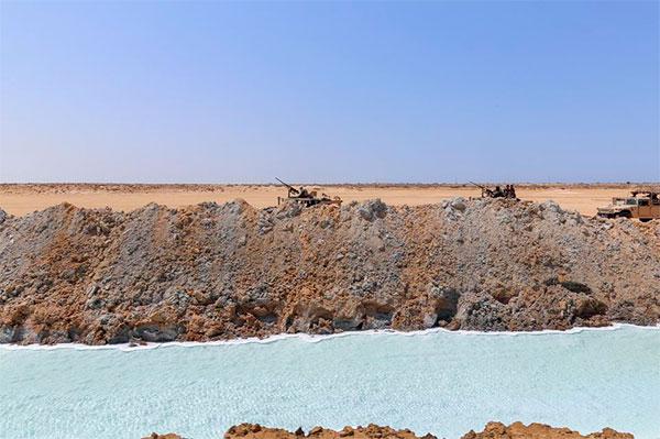 وزارة الدّفاع : ايقاف أجانب على الحدود التونسية الليبية