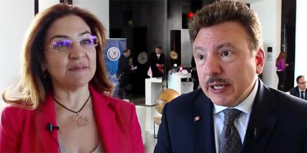 Lamia Fourati et David Hamod parlent de la visite de la Chambre Américaine-Arabe Nationale du commerce
