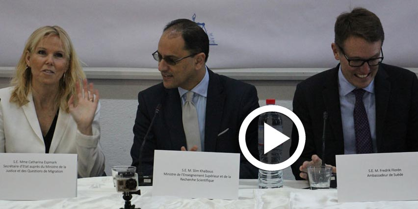 En vidéo-Tunisie Suède : regards croisés sur la liberté d'expression après la révolution