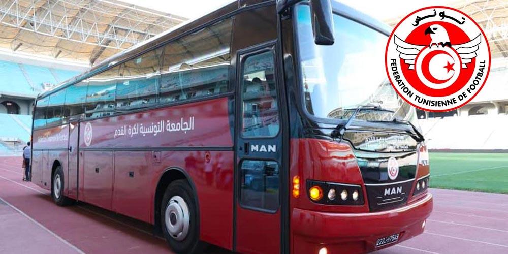 بالصور : حافلة جديدة على ذمة المنتخب الوطني