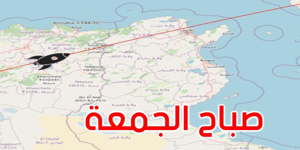 الطابق الثاني للصاروخ الصيني التائه يمر فوق مدن شمال تونس صباح الجمعة