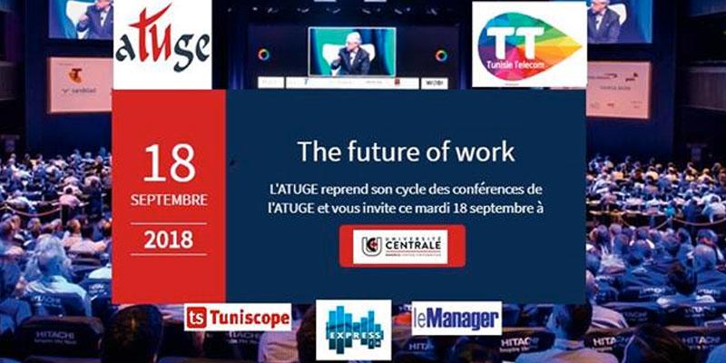 The Future of work the du mardi de l'ATUGE du 18 septembre