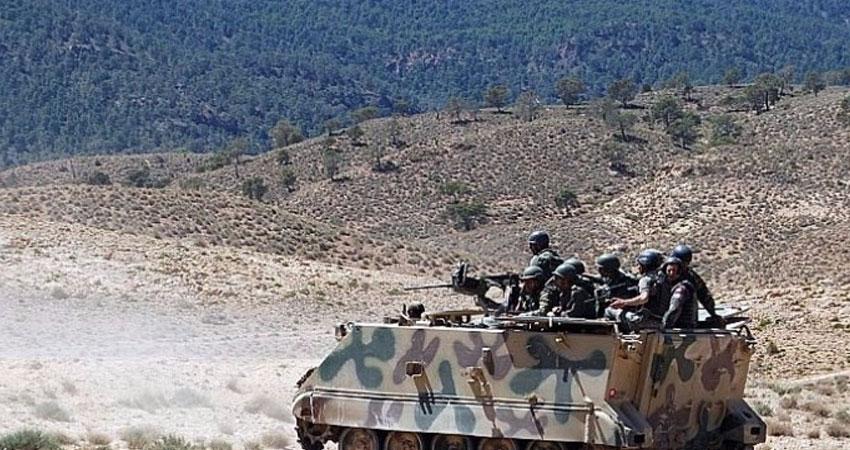 قصف مدفعي على مرتفعات جبال القصرين